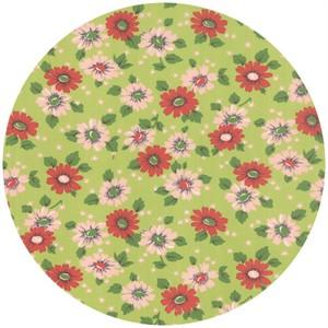 Erin Michael for Moda Fabrics, Purebred, Feedsack Pasture Green