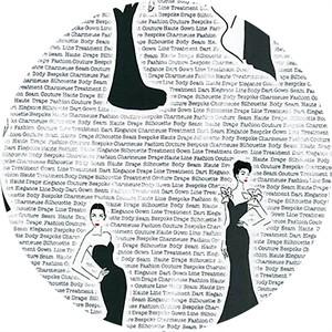 Robert Kaufman, City Chic, Evening Gown Black