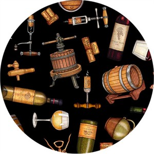 Quilting Treasures, Perfectly Vintage, Everything Wine Black