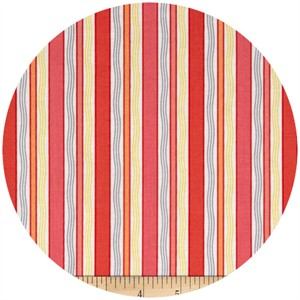 Exclusively Quilters, Gypsy, Stripe Coral