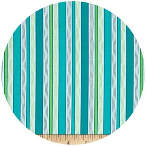 Exclusively Quilters, Gypsy, Stripe Turquoise
