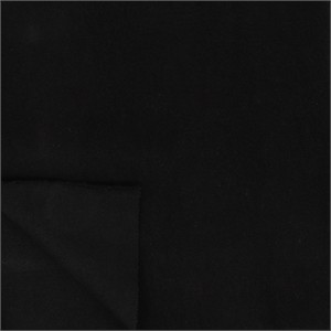 Birch Organic Fabrics, SWEATSHIRT FLEECE, Black