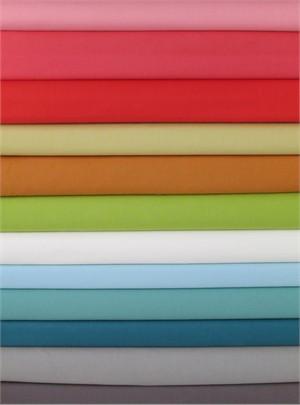 Fabricworm Custom Bundle, Birch Fabrics Mod Solids Sampler 11 Total