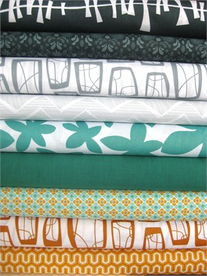 Fabricworm Custom Bundle, Boyfriend Approved, in Fat Quarters, 9 Total