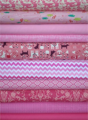 Fabricworm Custom Bundle, Como se Llama in FAT QUARTERS 10 Total