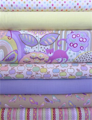Fabricworm Custom Bundle, Cozy Times in FAT QUARTERS 7 Total