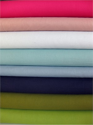 Fabricworm Custom Bundle. Essex Linen Sampler Bright, 8 Total