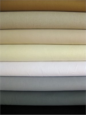 Fabricworm Custom Bundle, Essex Linen Sampler Neutral in FAT QUARTERS, 8 Total