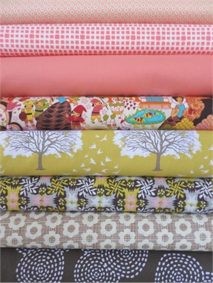 Fabricworm Custom Bundle, Fairest of Them All, in Fat Quarters, 8 Total