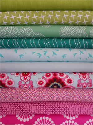 Fabricworm Custom Bundle, Fancy Pants in FAT QUARTERS 10 Total