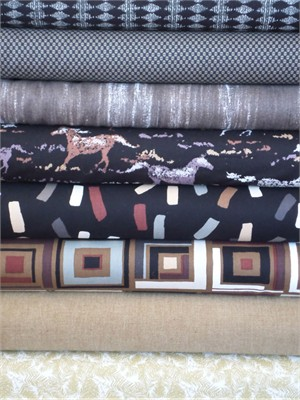Fabricworm Custom Bundle, Horse With No Name in FAT QUARTERS 8 Total