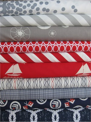 Fabricworm Custom Bundle, Merry Christmas From Jessica in FAT QUARTERS 10 Total