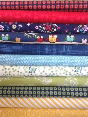 Fabricworm Custom Bundle, Perch in FAT QUARTERS 11 Total