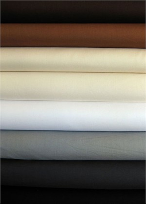 Fabricworm Custom Bundle, Pure Organic Solid Sampler Neutral in FAT QUARTERS, 8 Total