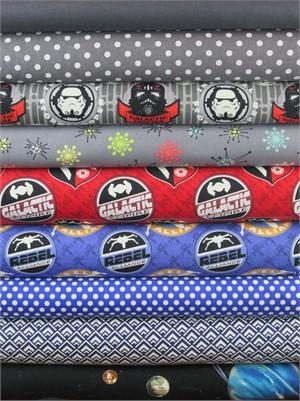 Fabricworm Custom Bundle, The Saga Continues in FAT QUARTERS 9 Total