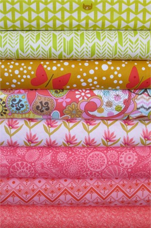 Fabricworm Custom Bundle, Spring Has Sprung in FAT QUARTERS 7 Total