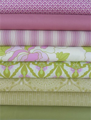Fabricworm Custom Bundle, Sweet Pea in FAT QUARTERS 8 Total