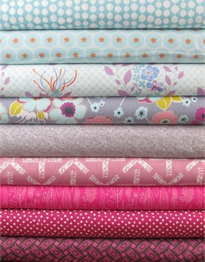 Fabricworm Custom Bundle, Thank You Berry Much in FAT QUARTERS 9 Total