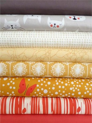 Fabricworm Custom Bundle, @Tikimeow in FAT QUARTERS 6 Total