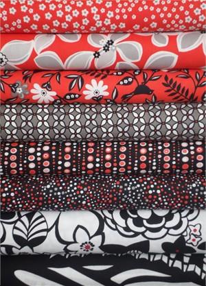 Fabricworm Custom Bundle, Two to Tango in FAT QUARTERS 8 Total