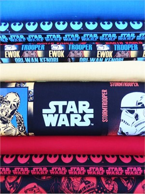Fabricworm Custom Bundle, Use the Force in FAT QUARTERS, 8 Total (Pre-cut)