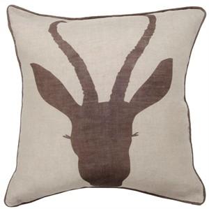 Fabricworm Gift, Antelope Cushion