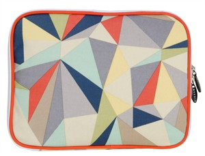 Fabricworm Gift, Facet iPad Sleeve