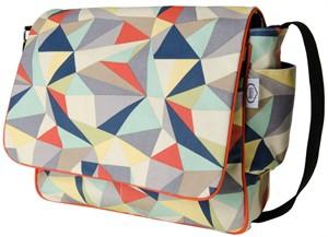 Fabricworm Gift, Facet Messenger Bag