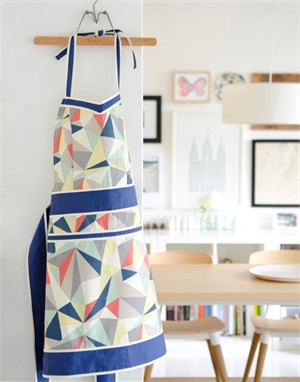Fabricworm Gift, Facet Tango Apron
