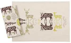 Fabricworm Gift, Habitat Placemat (Set of 2)
