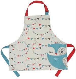 Fabricworm Gift, Hoot Laminated Kids Apron