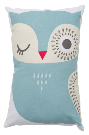 Fabricworm Gift, Hoot Wink Cushion