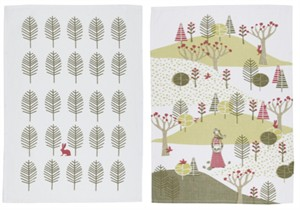 Fabricworm Gift, Nadja Tea Towels (set of 2)