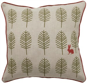 "Fabricworm Gift, Nadja ""Woods"" Cushion"