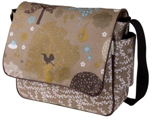Fabricworm Gift, Poetic Messenger Bag