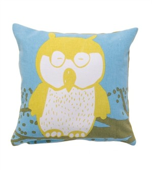 Fabricworm Gift, Zazza Owl Cushion