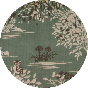 Japanese Import, LAWN, Fairytale Forest Seafoam