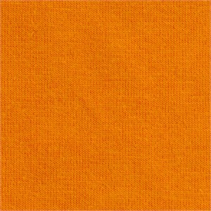 Fabricworm Jersey KNIT, Organic Solids, Clementine