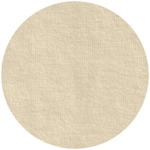 Fabricworm Jersey KNIT, Organic Solids, Cream Puff