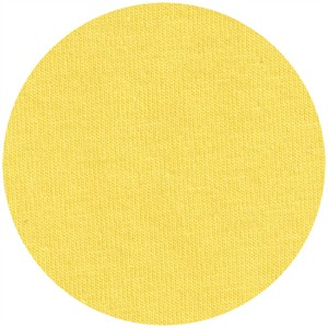 Fabricworm Jersey KNIT, Organic Solids, Dandelion
