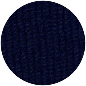 Fabricworm Jersey KNIT, Organic Solids, Navy
