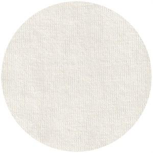Fabricworm Jersey KNIT, Organic Solids, Snow White