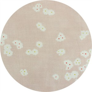 Japanese Import, DOUBLE GAUZE, Falling Flowers Blush