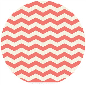 Fancy Pants Designs, Trendsetter, Chevron Coral