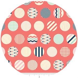 Fancy Pants Designs, Trendsetter, Dots Coral