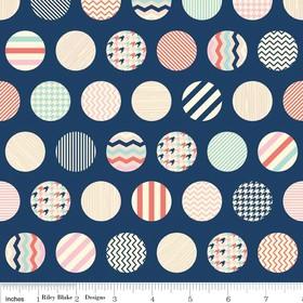 Fancy Pants Designs, Trendsetter, Dots Navy