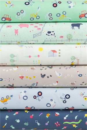 Dear Stella, Farm Life in FAT QUARTERS 6 Total
