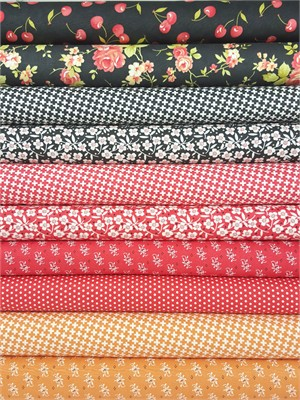 Fig Tree & Co., Farmhouse, Fall in FAT QUARTERS 10 Total