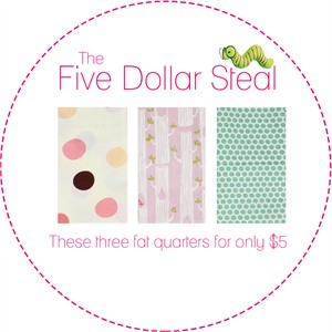 Five Dollar Steal, Daydream in FAT QUARTERS 3 Total