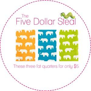 Five Dollar Steal, Ellie Kid in FAT QUARTERS 3 Total